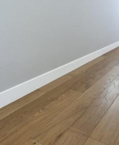 Parquet hometr schic for Battiscopa in legno bianco