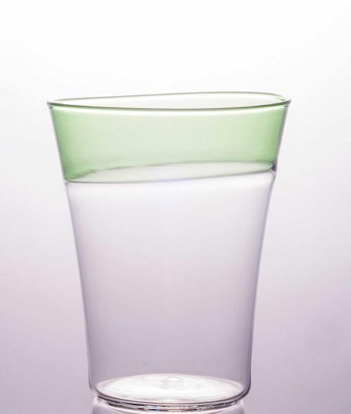 POP - Trasparente/Fascia Verde