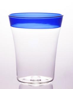 POP - Trasparente/Fascia Blu