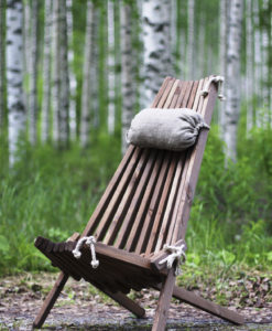 Eco Chair in legno naturale