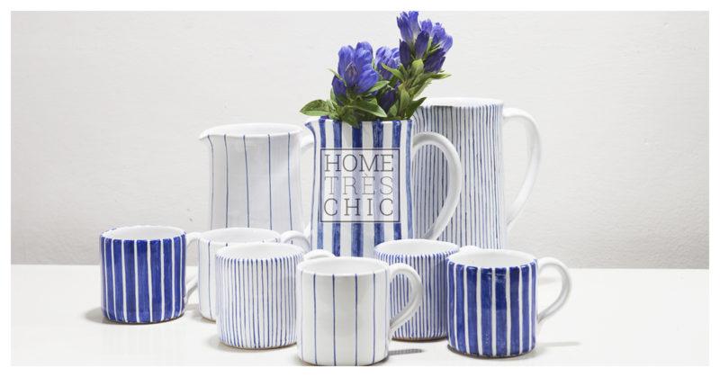 Servizio da thé in ceramica di Hometrèschic