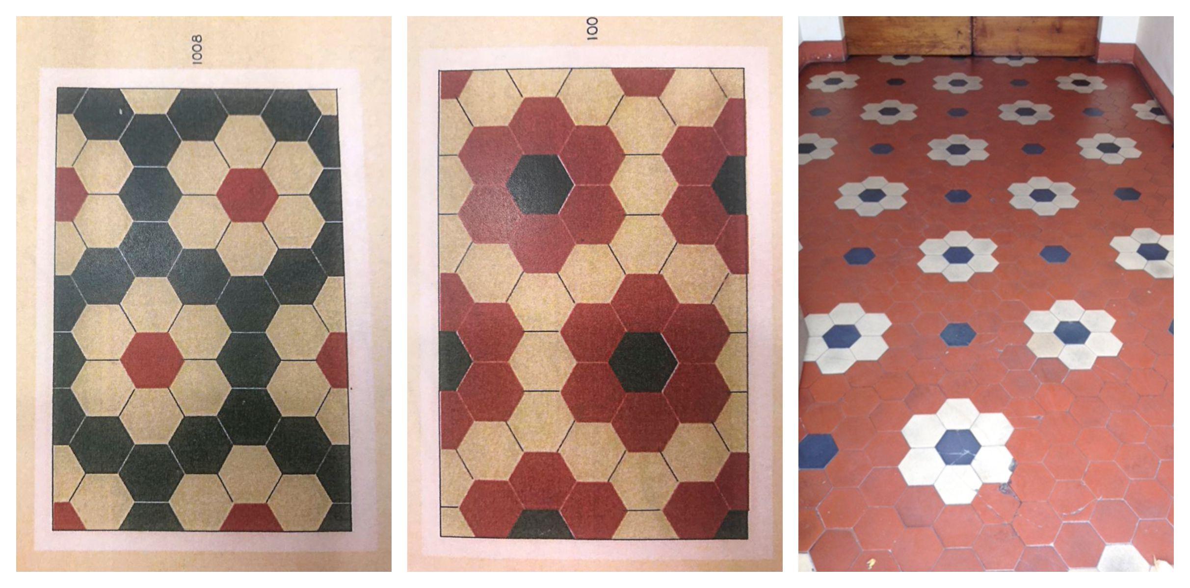 L'album pavimenti cementine-esagonali vintage di hometreschic