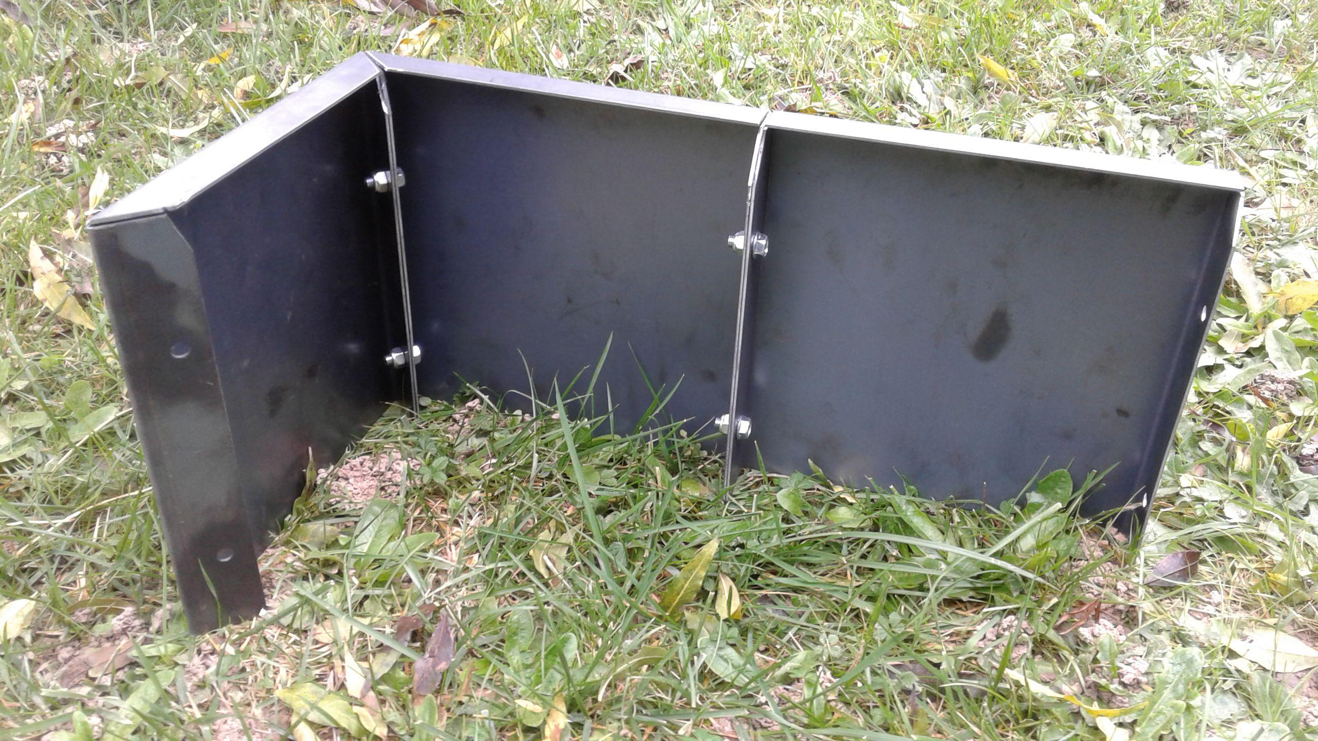 La fioriera modulare in acciaio di Hometrèschic