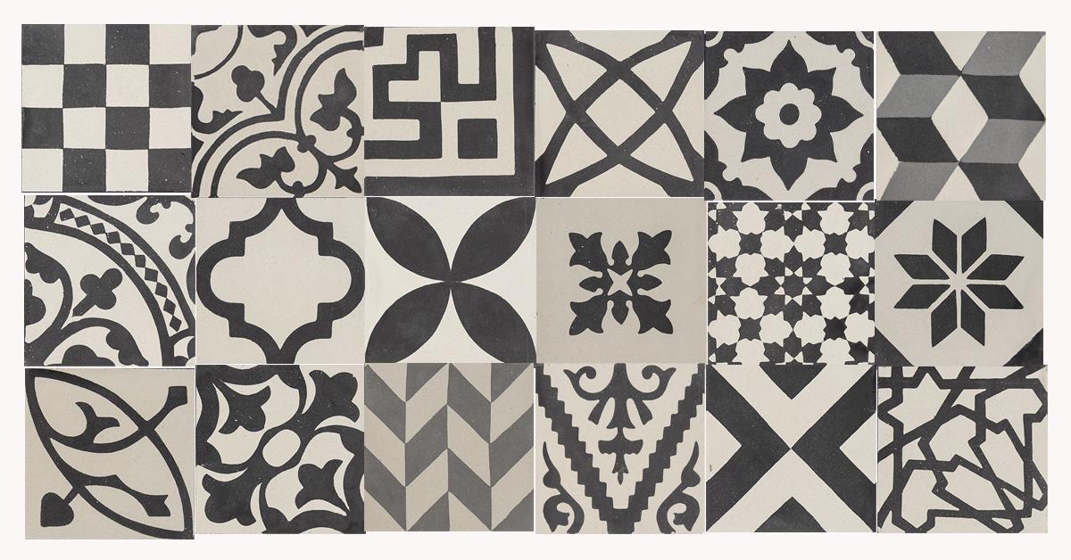 Le cementine con patchwork di Hometrèschic