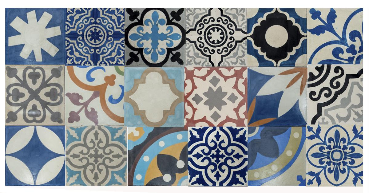 Cementine e patchwork di Hometrèschic