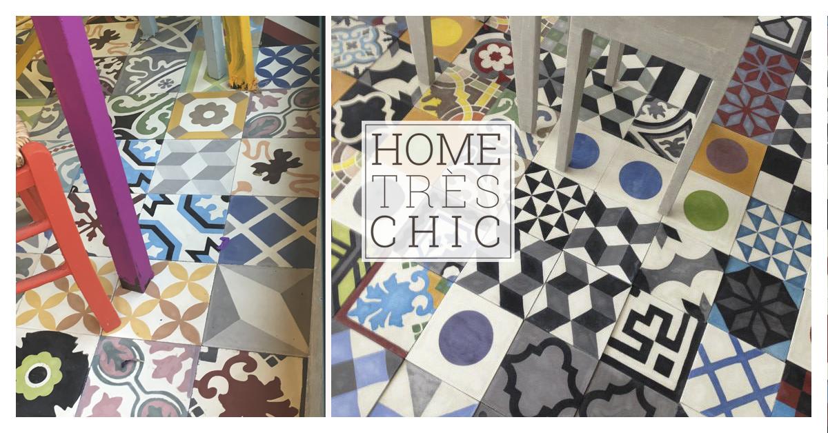 Cementine patchwork di Hometrèschic