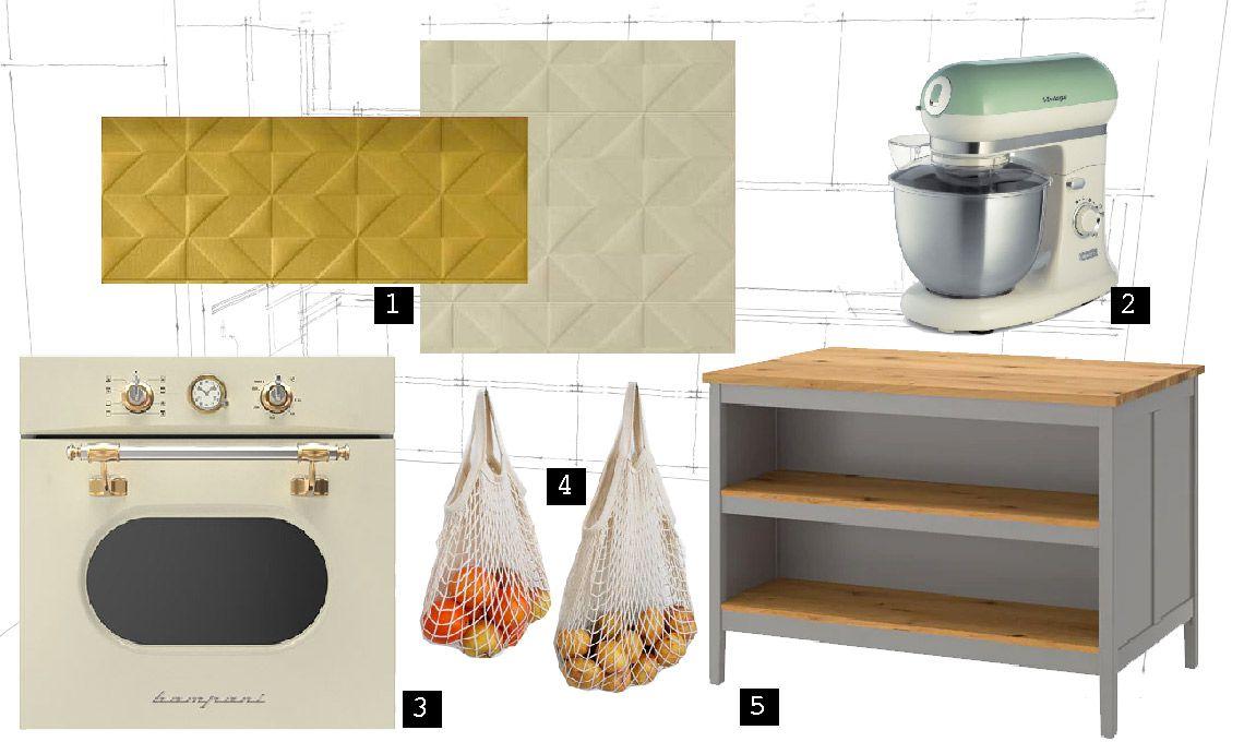 I colori per la cucina proposti da Hometrèschic