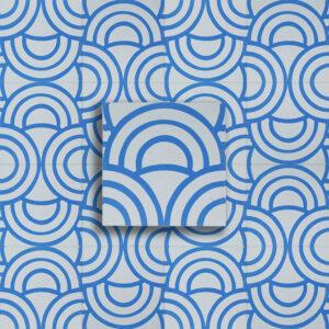 cementina ying yang bianco blu